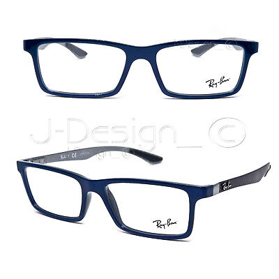 c04fbdba4e9 ... sale ray ban rb 8901 5611 carbon fiber blue gray 53 17 145 eyeglasses rx  c5051