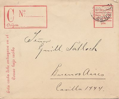 Chile: 1904: letter to Buenos Aires