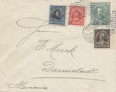 Chile: letter from Santiago to Darmstadt