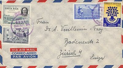Costa Rica: 1960: San Jose to Zürich/Switzerland