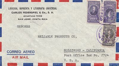 Costa Rica: 1949: San Jose to Hollywood