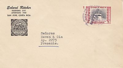 Costa Rica: 1955: San Jose to San Jose