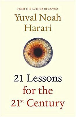 21 LESSONS FOR THE 21ST CENTURY by YUVAL NOAH HARARI (ENGLISH) - BOOK HARDCOVER