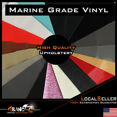Premium Marine Vinyl Fabric Boat Auto Upholstery Outdoor Seating Decorate UV