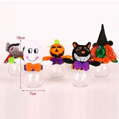 Halloween Bags Cute Witch Doll Candy Bag Creative Trick Or Treat Bag M2