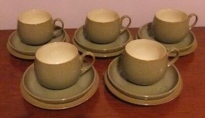 'DENBY' Stoneware 15 piece Tea Set 'Camelot'