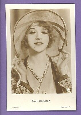 Betty Compson # 5154/1 Vintage Photo Pc. Publisher Germany 707