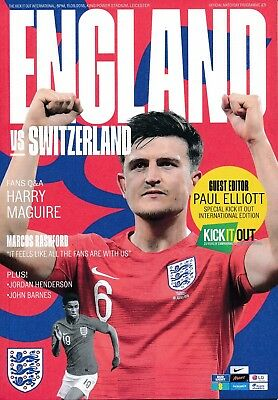 ENGLAND v Switzerland (Friendly International @ Leicester City) 2018