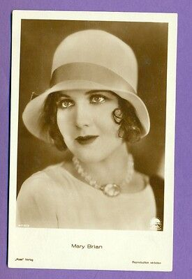 Mary Brian # 4112/2 Vintage Photo Pc. Publisher Germany 191