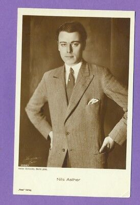 Nils Asther # 3550/1 Vintage Photo Pc. Publisher Germany  165