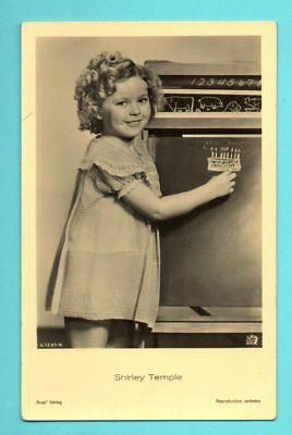 Shirley Temple # 1237/4 Vintage Photo Pc. Publisher Germany 599