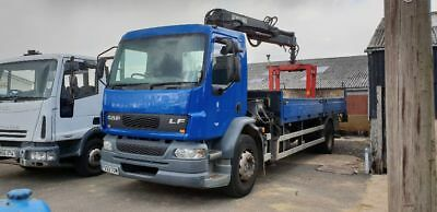 DAF LF 18 ton with 085 hiab 04reg