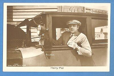Harry Piel And Car  # 1099/1 Vintage Photo Pc. Publisher Germany  1428