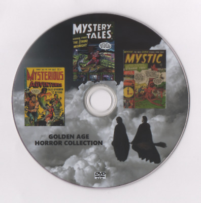 Mystery Tales Mysterious Adventures Mystic Golden Age Horror Sf Comics On Dvd