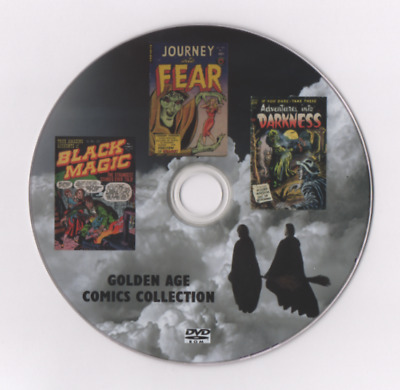 Black Magic Journey Into Fear Adventures Into Darkness Golden Age Comics On Dvd