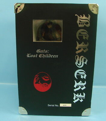 Berserk - ART of War - Guts: Lost Children Serial No. 0532 Figure Figurine RARE