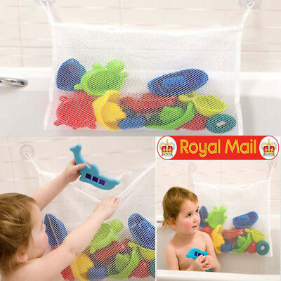 New Design Baby Bath Toy Tidy Storage Net Suction Cup Bag Mesh Shower Organiser