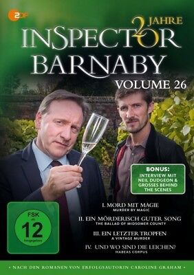 Inspector Barnaby Vol. 26 4x DVD-5 Neil Dudgeon Jane Wymark Barry Jackson Laura