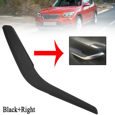 Right Inner Door Handle Right Pull Panel Trim Black for BMW X1 E84 2010-2016