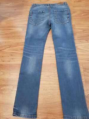 River Island Mid Blue Skinny Jeans Age 12 Years