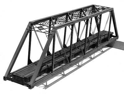 Central Valley Models HO Scale 1902 150ft. HO scale Truss Bridge Kit