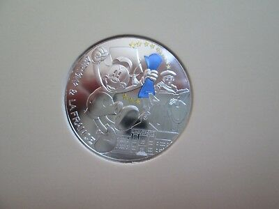 Frankreich - 50 Euro 2018 Mickey Mouse Silber