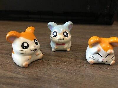 HAMTARO Rare Retired Toy Figures Hamsters  Accessories  Japanese- Pencil Toppers