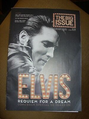 The Big Issue Magazine 13th-19th August 2018 Number 1320 Elvis Presley homeless