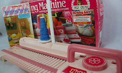Tutorial tomy knitting machine toy knitting machine (sorry audio.