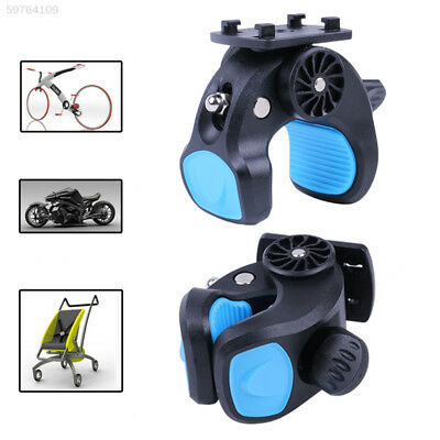 609D Mobile Phone Mount Holder Non-Slip Plastic 8cm Swivels Bicycle Motorcycle