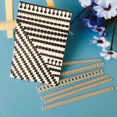 6pcs/set Metal Cutting Dies Stencil Scrapbook Paper Cards Craft EmbossingUUDE