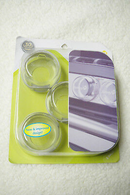 Safety 1St Clear View Stove Knob Covers 5 Count - Child Proofing Safety First