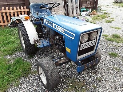 Ford 1100  Compact tractor