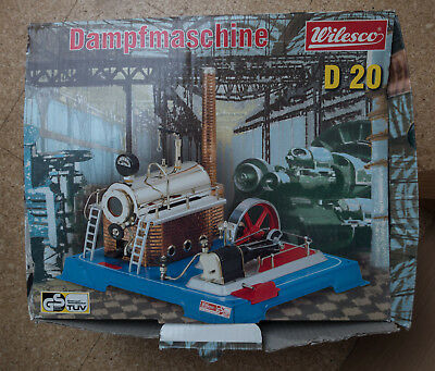 Wilesco D 20 Dampfmaschine