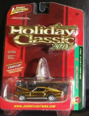 2007 Johnny Lightning Holiday Classic 1968 Shelby Gt-500 Nip