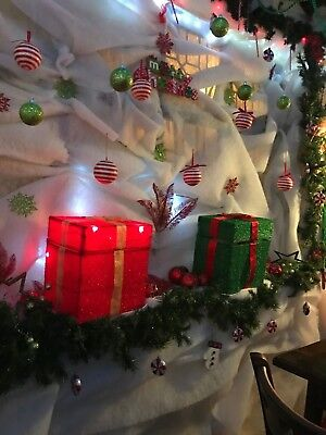 Fake Snow Blanket Roll Christmas Tree Snow Decoration Grotto Nativity Scenery