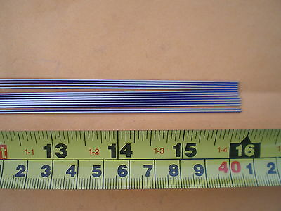 50 Stainless Steel Straight Lure Shaft Wire Form 0.045 X 16 Inches Long