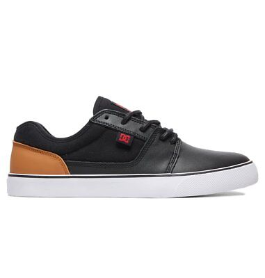 DC SHOES scarpe Tonik SE nere black camel da uomo donna in pelle sneakers  skate 9ff46ae1166