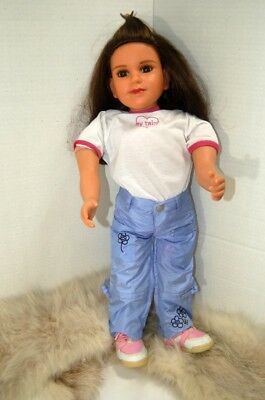 1996/2006 My Twinn Doll with Outfit, Medium Brown Hair and Brown Eyes