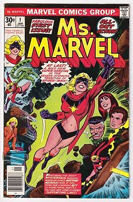 MS. MARVEL #1 | Vol. 1 | 1st app. of Carol Danvers as Ms Marvel | 1977 | VG/FN