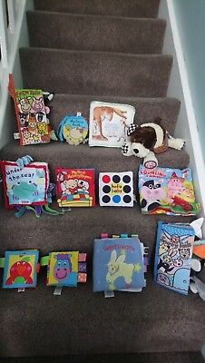 Baby sensory high contrast soft books Inc Jellycat Mamas & Papas Galt Mothercare