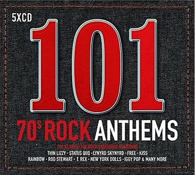 101 70s Rock Anthems [CD]