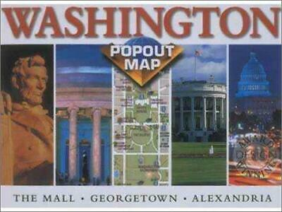 Washington DC (USA PopOut Maps S.), Very Good Condition Book, Compass Maps, ISBN