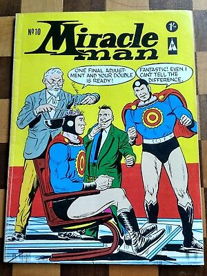 Miracle Man #10(1965) 1St Printing Uk Tp.