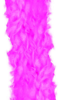 Hot Pink 100% Feather Boa 140GM Over 6 ft Costume Accessory Burlesque Showgirl