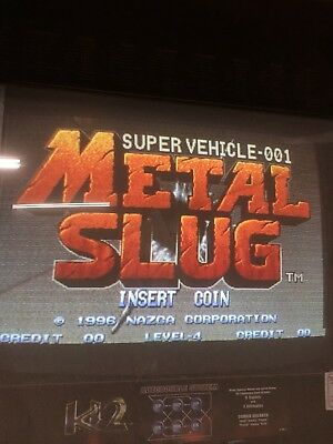 Metal Slug - SNK Neo Geo Arcade MVS Cartridge