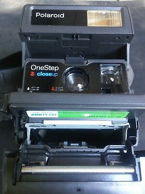 Polaroid Camera closeup One Step Tested