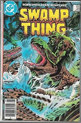 Swamp Thing #32 (Vg/fn) Classic Alan Moore, Copper Age Dc