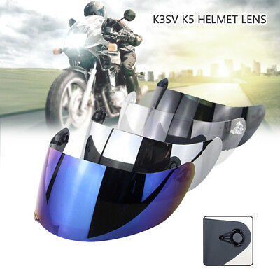 For AGV K1 K3SV K5 Motorcycle Wind Shield Helmet Lens Windshield Visor Full Face