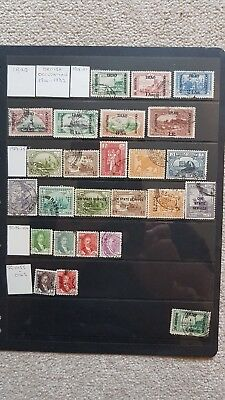 Iraq Stamps. 1910s 1920s 1930s